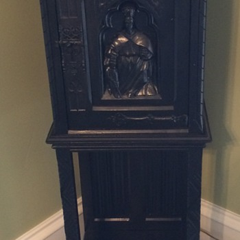 Belgian Made Prayer/Bible Cabinet
