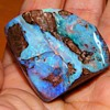 Vintage Raw Boulder Opal Gemstone 2.5 inches x 1.30 HUGE 45.7gr