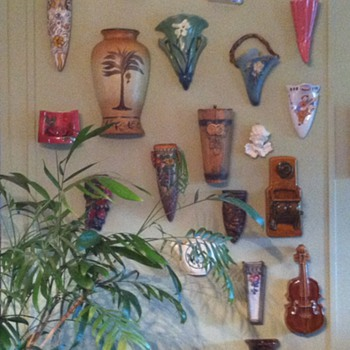 Wallpockets - Art Pottery