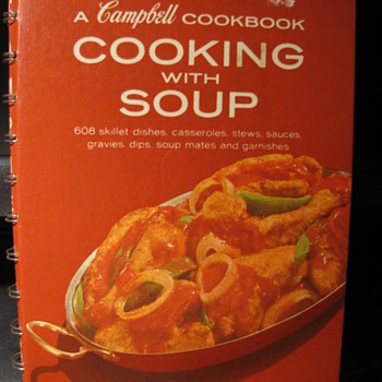 """Cooking with Soup"" A Campbell Cookbook"