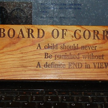 BOARD OF CORRECTION