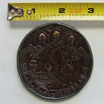 Large Advertising Token(Liberty Penny)