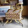 1900's Texas Long Horn Chair
