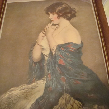 Print of &quot;Puzzled&quot; by Nicolet