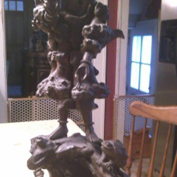 Antique Chinese Rootwood Carving - Asian