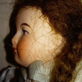 "6"" Antique Bisque European Doll - Dolls"