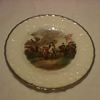 WASHINGTON  CHINA PLATES