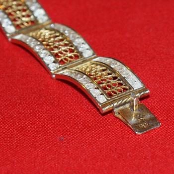 Filigree 800 Silver Bracelet - Fine Jewelry