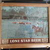 Vintage Lone Star Beer Lighted Sign
