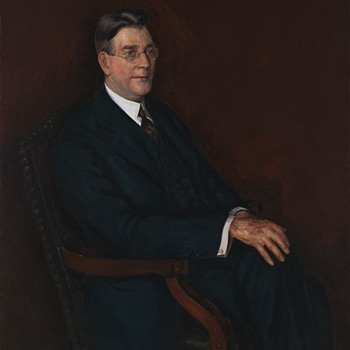 Curtis Dwight Wilbur Portrait, Secretary of the U. S. Navy, by Dorsey Doniphan