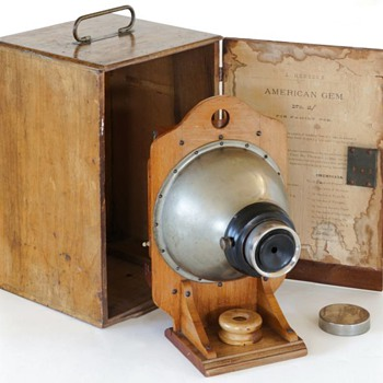 The 1881 American Gem No.2 – a very early toy camera