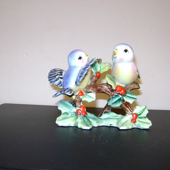 Vintage Japanese Birds - Figurines