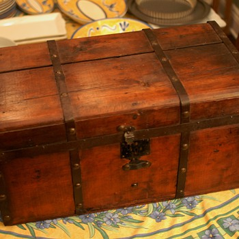 Civil War Era Child's Trunk - Furniture