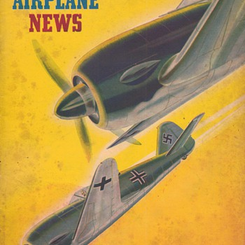 1942 - Model Airplane News magazine - November