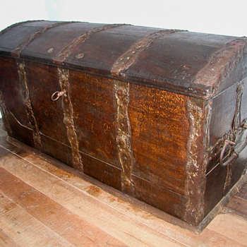 Marriage Chest from Continental Europe