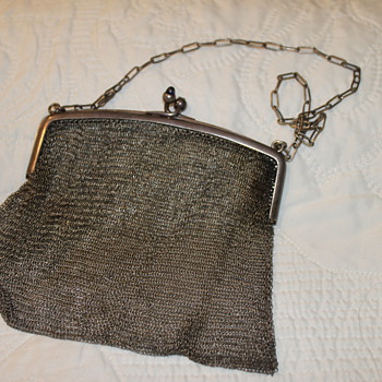 Sterling Silver German Purse - Sterling Silver