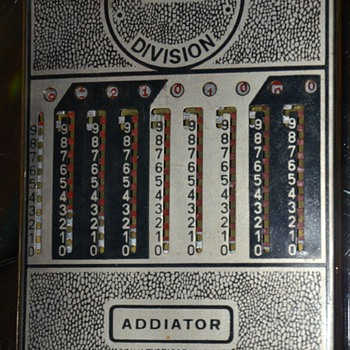 The Addiator - Patents applied for. - Office