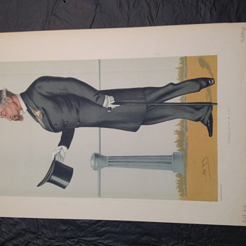 Vanity fair lithograph