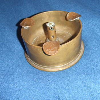 WW2 Trench Art ashtray - Military and Wartime