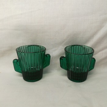 Libby green cactus shot glasses - Kitchen