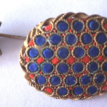 My newest Micro Mosaic acquisitions; brooch - stickpin - Fine Jewelry