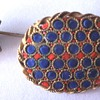 My newest Micro Mosaic acquisitions; brooch - stickpin