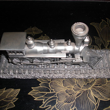 Pewter railroad, The General - Railroadiana