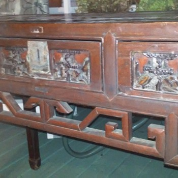 antique desk identification - Furniture
