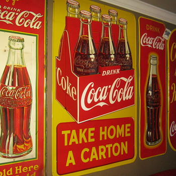 Coke Sign Collection - Coca-Cola