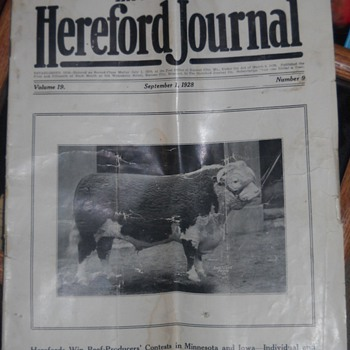 American Hereford Journal - Advertising