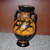 REPLICA GREEK VASE painted by N. Lyrintzi