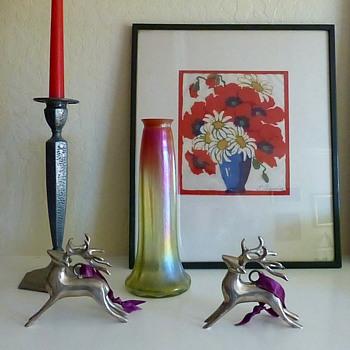 Christmas Colors: Rindskopf Grenada Vase