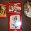 Coca-Cola tray collection