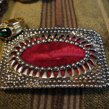 Velvet Belt Buckle - Accessories