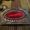 Velvet Belt Buckle