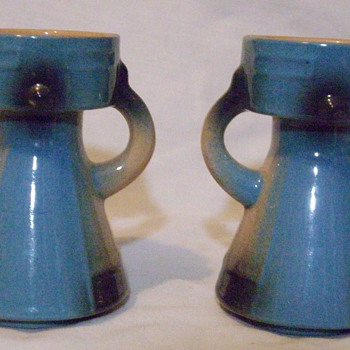 Candle holders? - Art Pottery