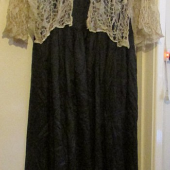 Victorian/Edwardian silk dress  - Womens Clothing