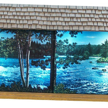 Hamms LARGE scenorama sign (5 ft.)