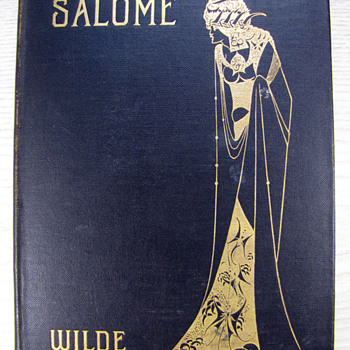 1906 Aubrey Beardsley Illustrated Version of Oscar Wilde&#039;s Salome - Art Nouveau