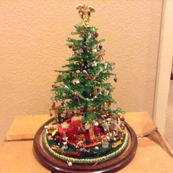 My vintage miniature Christmas Tree - Christmas