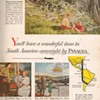 1954 - Panagra Airline Advertisement