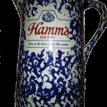Hamms Beer Pitcher