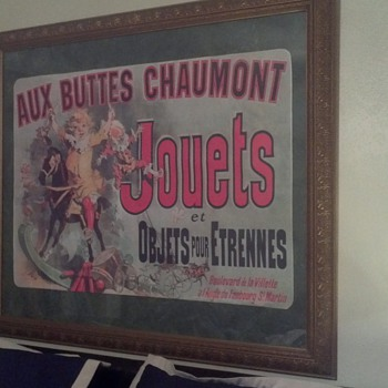 AUX BUTTES CHAUMONT poster 