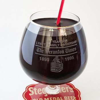 100th Anniversary Snifter…Scranton Times.