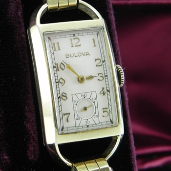 "1939 Bulova American Eagle ""A"" - Wristwatches"