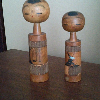 Kokeshi dolls - I think