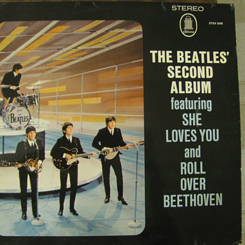 Rare Beatles Second Album on Odeon! - Records
