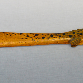 Wooden Fish Paddle? - Folk Art