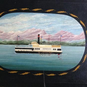 The Ticonderoga - Folk Art