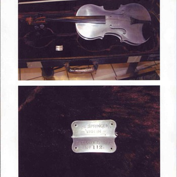 Springer Violin  #112 - Music